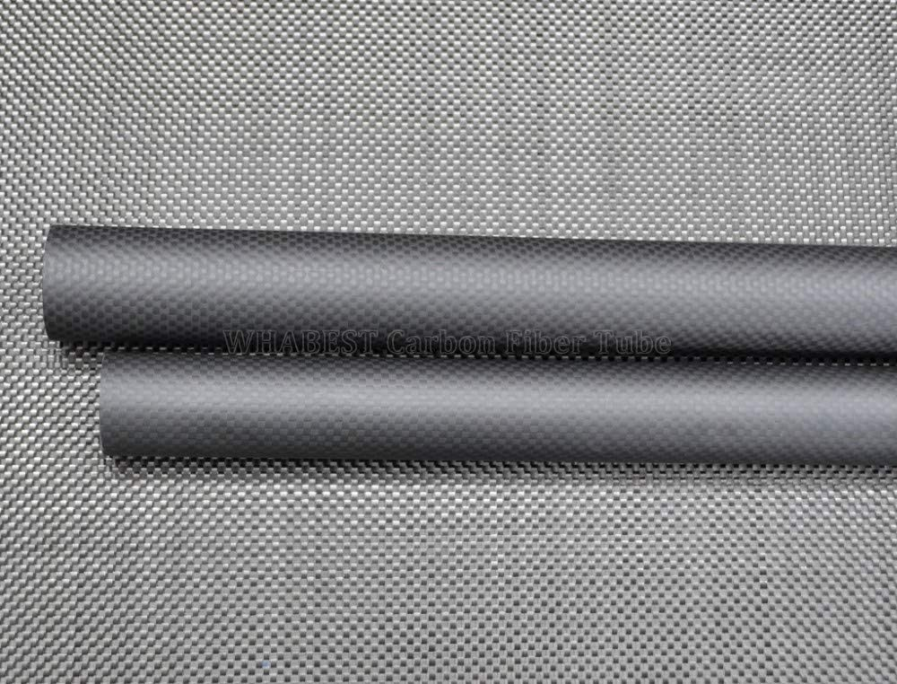 1PC 10x6x500mm Glossy Carbon Fiber Tube 3K OD 10mm 11 12mm 13 14mm 15mm 16mm 17 18mm 19mm 20mm X 500mm Length 100/% Full Carbon Composite Material//Pipes WHABEST US RC Plane//RC DIY