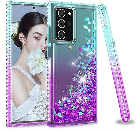Leyi Für Samsung Galaxy Note 20 Ultra Hülle Glitzer Elektronik