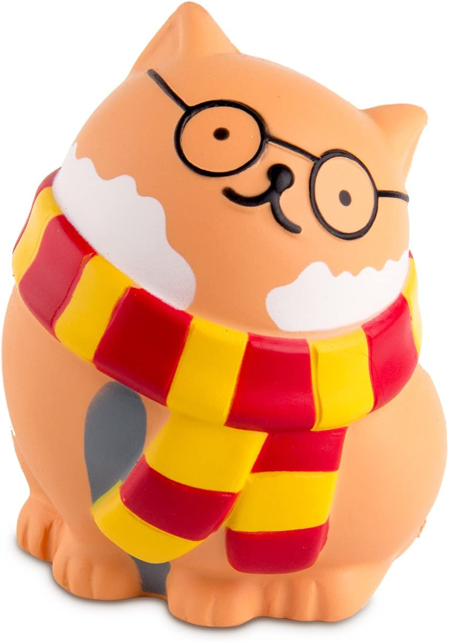 BeYumi Slow Rising Squishy, Glasses Cat Squishy Toy, Sweet Scented Vent Charms Toy Cute Kid Toy Hand Toy, Lovely Stress Relief Toy , Decorative Props