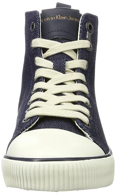 Womens Dorielle Metal Denim High Sneaker Calvin Klein Jeans n0Ubih