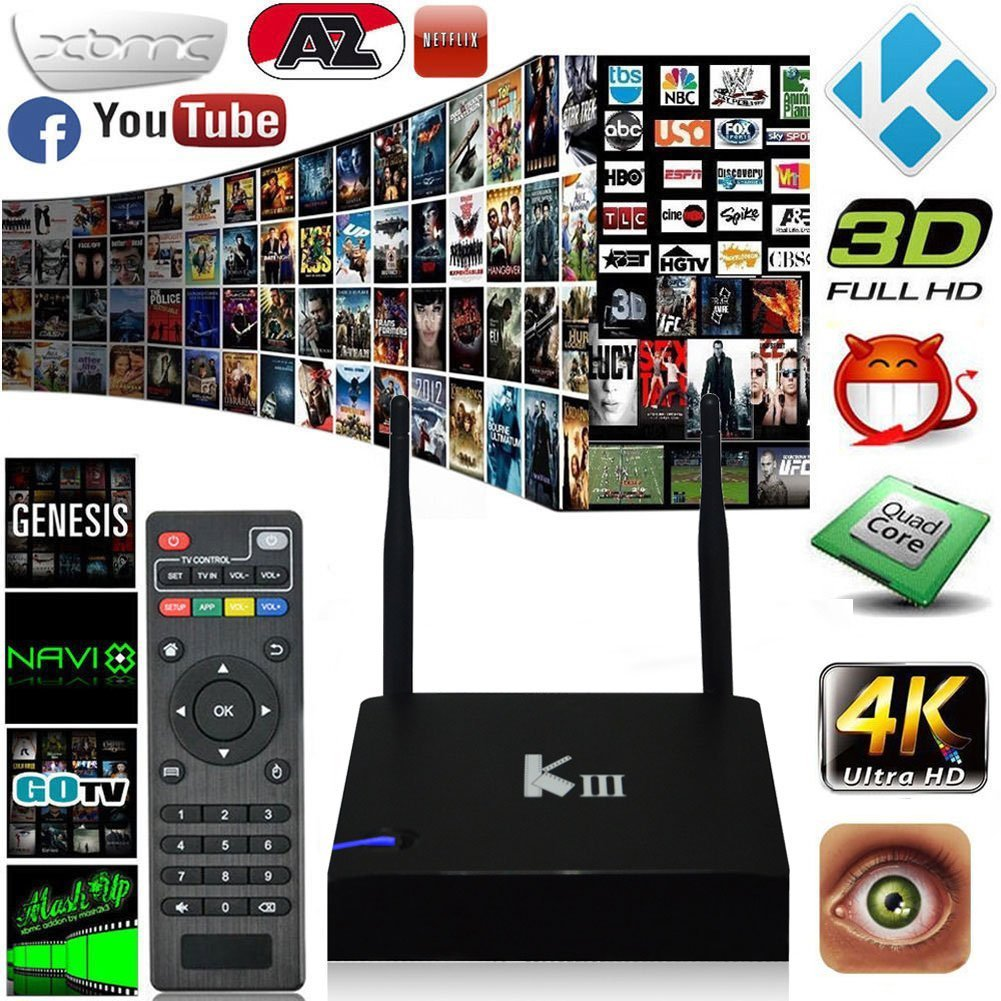 Best 4K Streaming Android Box For XBMC Kodi 2018-2019 - cover