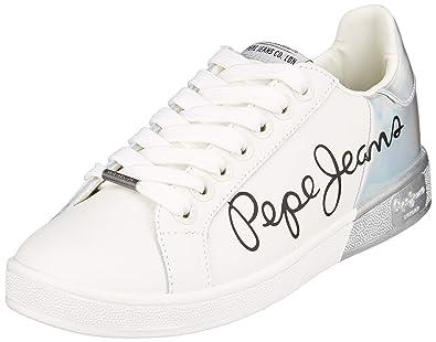 Pepe Jeans Damen Brompton Mania Sneaker