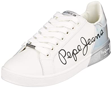 Pepe Jeans Women's Brompton Mania Trainers