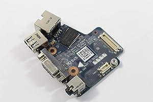Dell Latitude E6420 3258H Audio USB Ethernet VGA Board LS-6592P