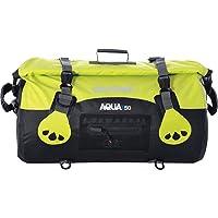 Oxford Unisex's Aqua T-50 Roll Bag, Black/Fluorescent, 50