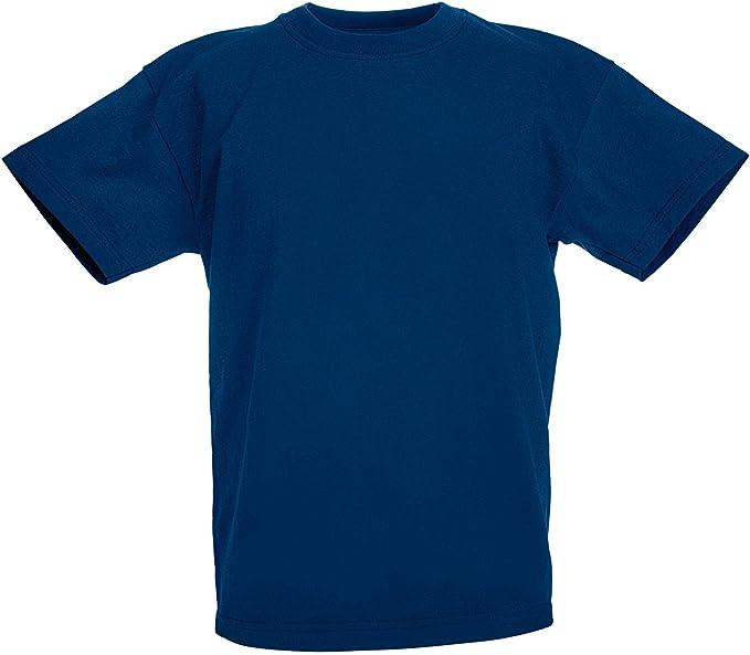 2 x 2 confezione di Scuola Bianco Girocollo T-shirt Età 3-4