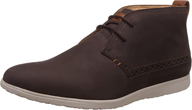 Hush Puppies Men's Zero G Nu Buck Leather Boots Men's Boots at amazon