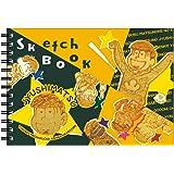 ヒサゴ おそ松さん 図案スケッチブック B6サイズ/十四松 HG6975