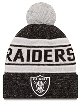 Image Unavailable. Image not available for. Colour  Oakland Raiders New Era  NFL  quot Toasty Cover quot  Cuffed Knit ... 5a9307061