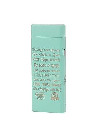 Tesla Lighter T04 electrónico USB luz arco - Mechero con texto de ...