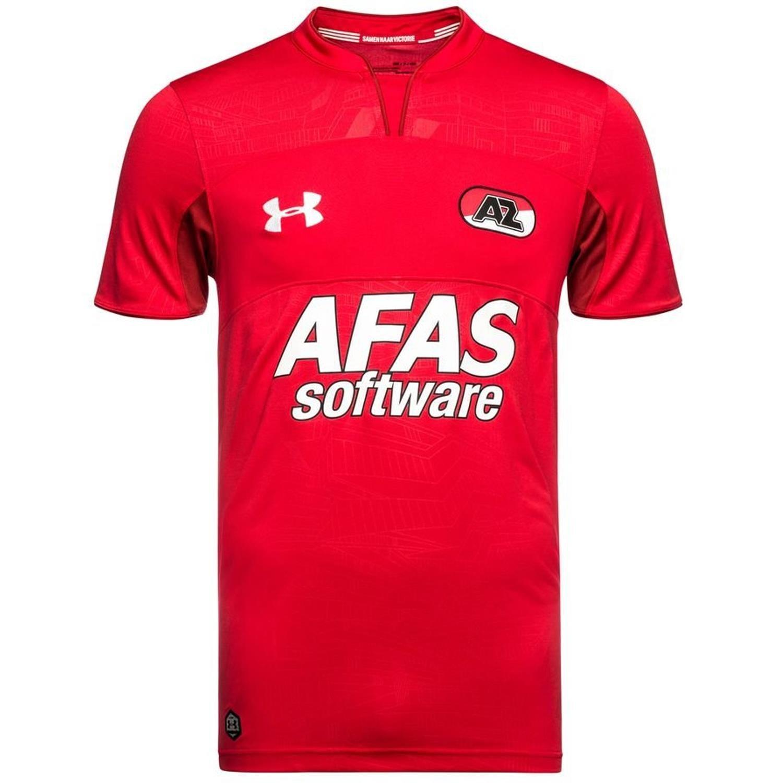 Under Armour 2018-2019 AZ Alkmaar Home Football Soccer T-Shirt Trikot