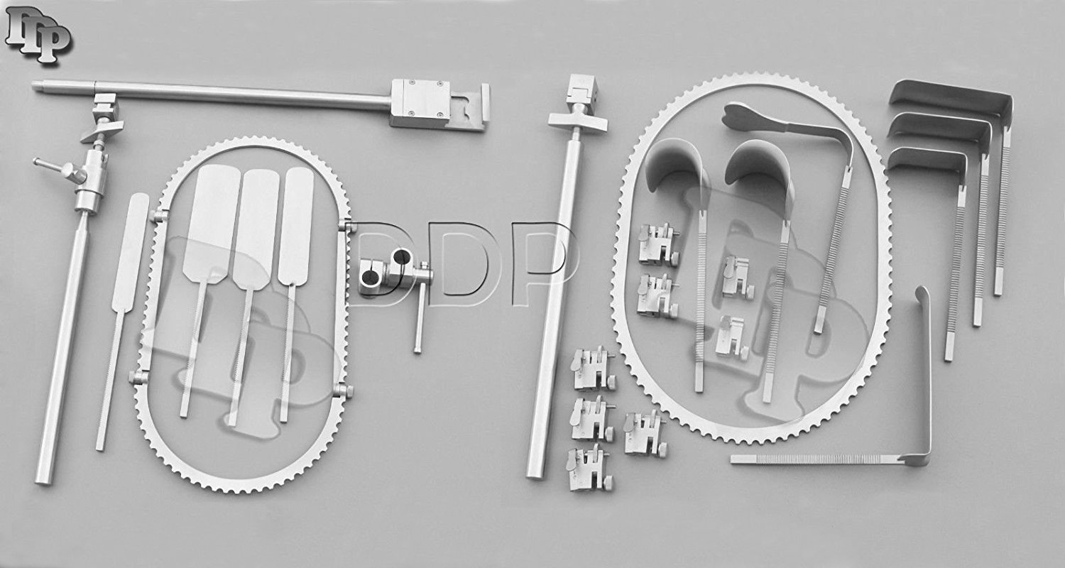 DDP RETRACTOR SYSTEM INSTRUMENTS