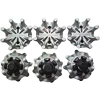 MamimamiH New 6pcs Golf Shoe Spikes Softspikes Golf Shoe Spikes Fast Twist Tri-Lok Spikes Cleats fit Footjoy