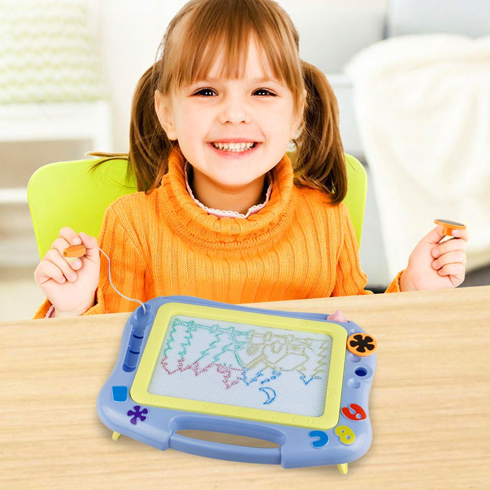 Fajiabao Magnetic Drawing Board-Small Kids Drawing Doodle Board for Toddler Kids Birthday Gift for Writing Painting and Learning