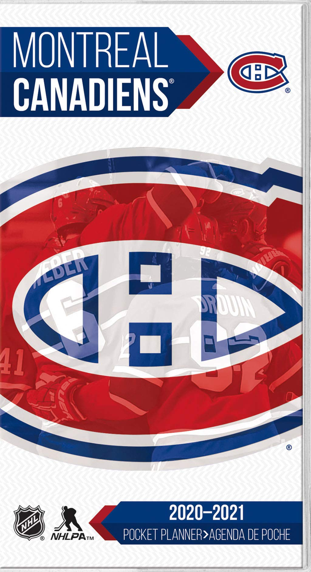 Montreal Canadiens 2020 Pocket Planner English And French Edition Trends International 9781438869278 Amazon Com Books