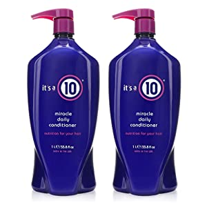 It's a 10 Haircare Miracle Daily Conditioner, 33.8 fl. oz. (Pack of 2)