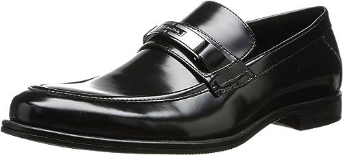 cute cheap best website good quality Amazon.com | Calvin Klein Men's Armond Box Smooth Slip-On Loafer ...