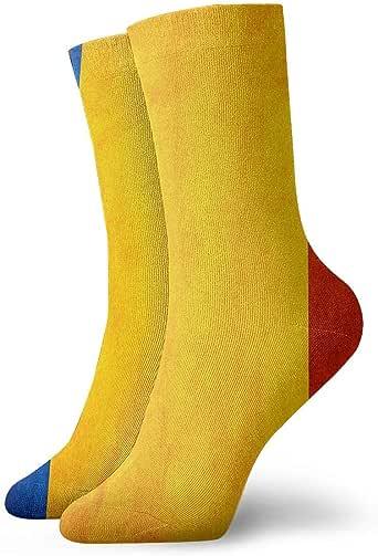 Becomfort Lengua rumana vintage Magnífica bandera Calcetines de algodón de ocio Calcetines deportivos para hombres y mujeres: Amazon.es: Ropa y accesorios