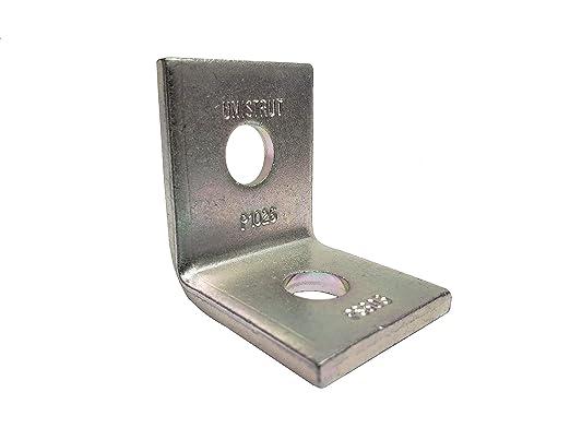Hot Dipped Galvanized 5pcs Unistrut P2626 Non-Slip 2-Hole 90