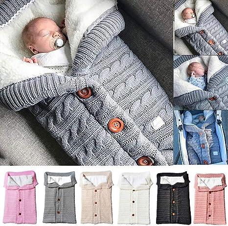 Saco de dormir para cochecito de bebé, mantas de pañales para ...
