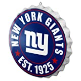 New York Giants 2016 Bottle Cap Wall Sign