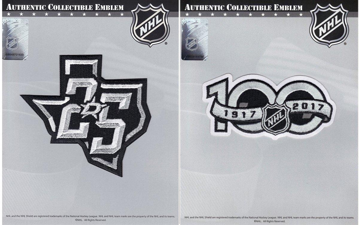 Amazon.com  Dallas Stars 25th   NHL 100th Centennial Season Anniversary  Embroidered Jersey Patch d54408b69