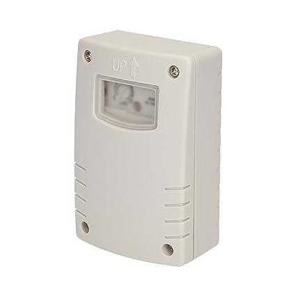 luz interruptor crepuscular temporizador Sensor Crepuscular 2 - 300 Lux