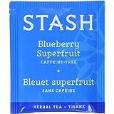 Stash Blueberry Superfruit Herbal Tea Bags, 100 Count