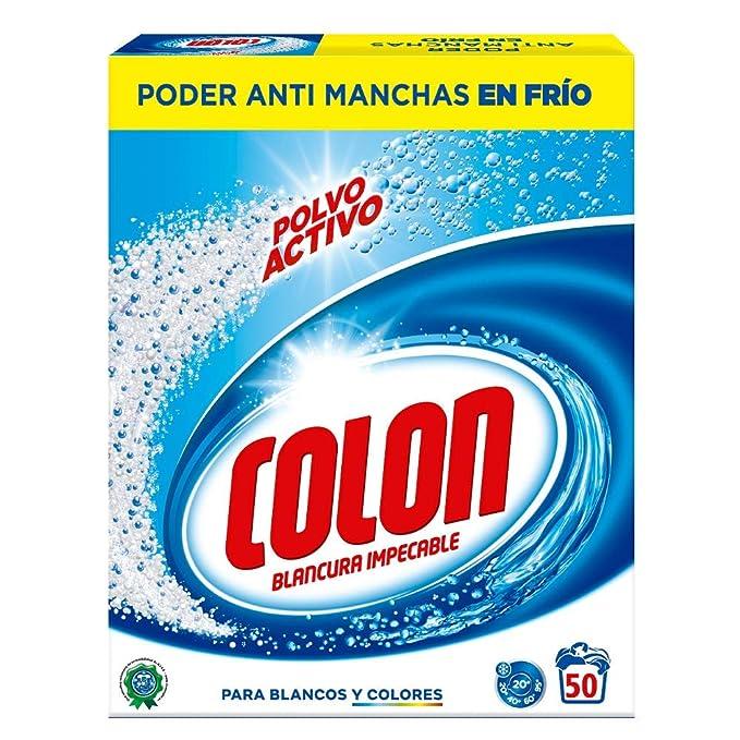 Colon Detergente para Lavadora de Ropa en Polvo Activo - 50 ...