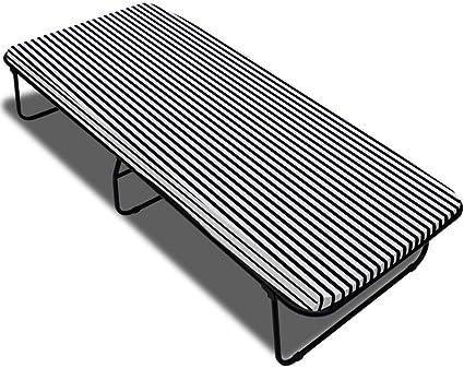 vidaXL Cama Plegable De Muelles con Colchón Incluido, 190 X 80 X 40 Cm