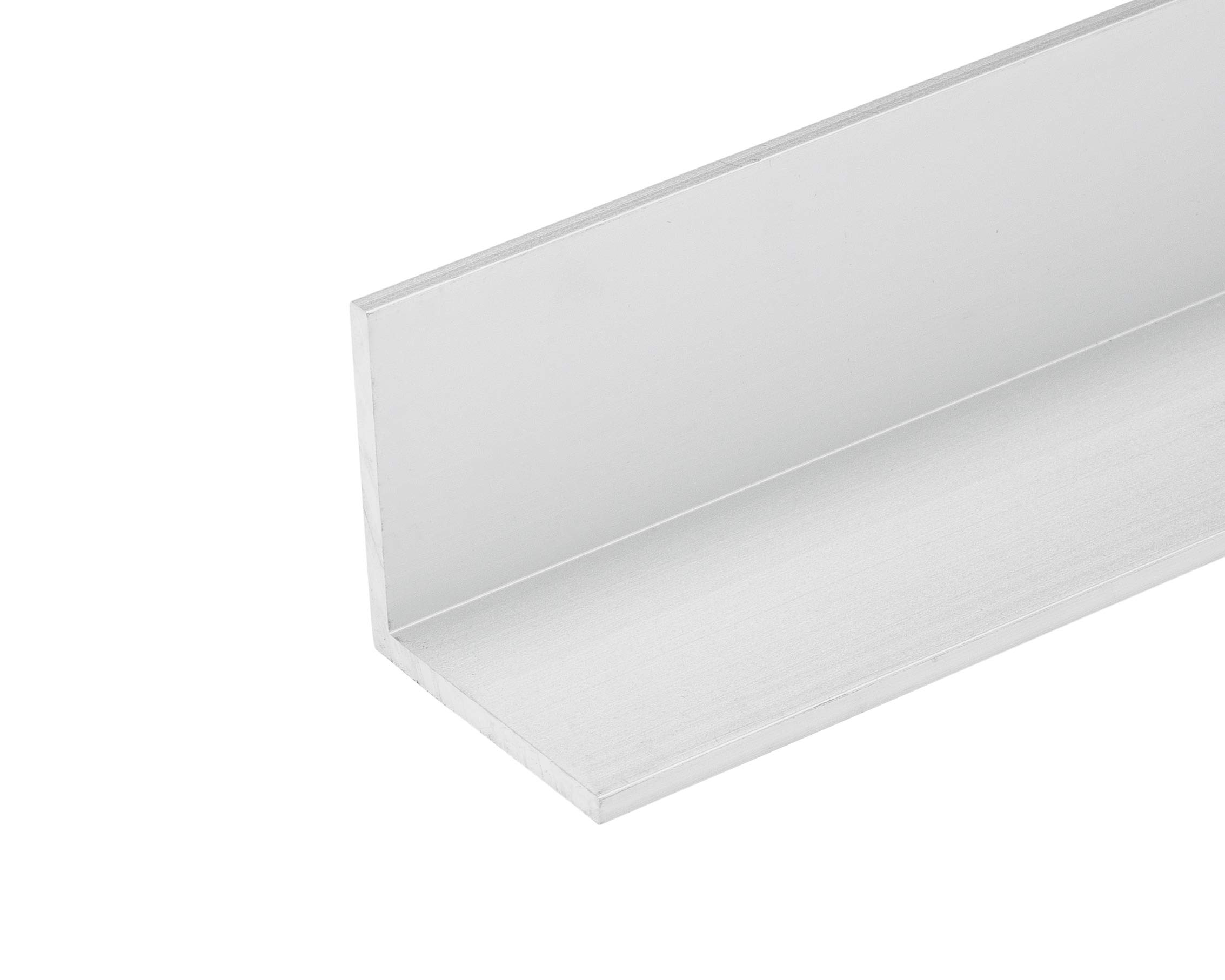 96''L x 2''W x 1/16''T Clear Anodized Aluminum Angle (3 Pack) Made in USA 8 FT 2'' Angle by Randall Manufacturing Co., Inc