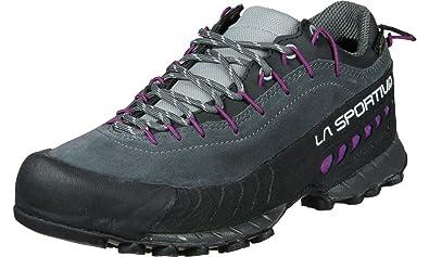 La Sportiva TX 4 Gtx® Lila/Violett-Grau, Damen Gore-Tex® Hiking- & Approach-Schuh, Größe EU 39 - Farbe Carbon-Purple Damen Gore-Tex® Hiking- & Approach-Schuh, Carbon - Purple, Größe 39 - Lila/Violett-