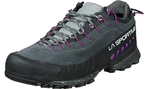 La Sportiva Tx4 Woman GTX Carbon/Purple, Zapatillas de Deporte para Mujer: Amazon.es: Zapatos y complementos