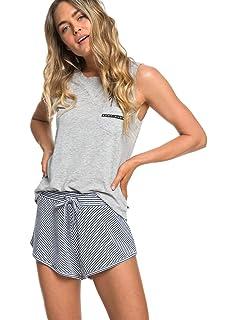 28c3754d908 Roxy Forbidden Summer Stripe - Short en Molleton pour Femme ERJNS03210