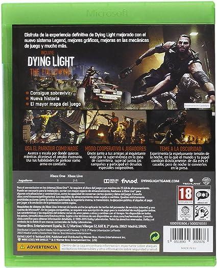 Dying Light: The Following - Enhanced Edition: Amazon.es: Videojuegos