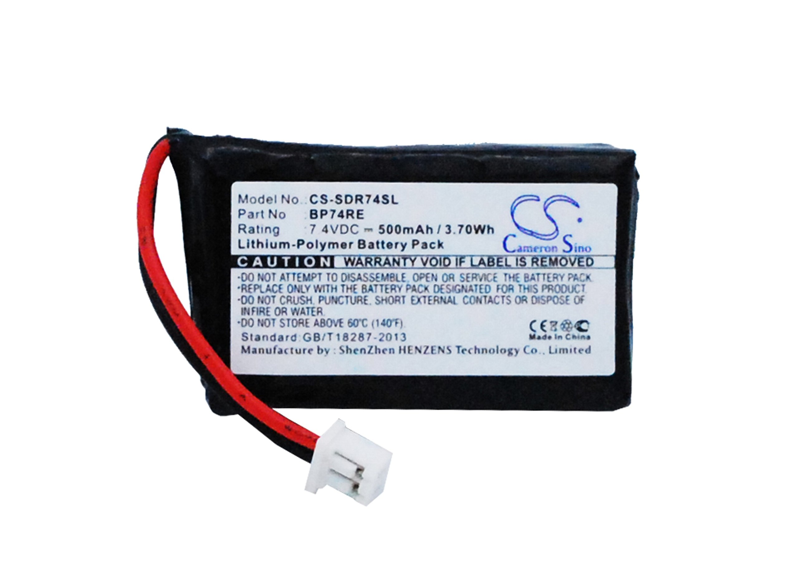 Replacement Battery for DOGTRA Edge Collar, Edge Receiver, Edge Remote Dog Training Collar, Edge RT Additional Receiver, Edge RT Collar, Edge RT Remote, Edge RX by BCXY