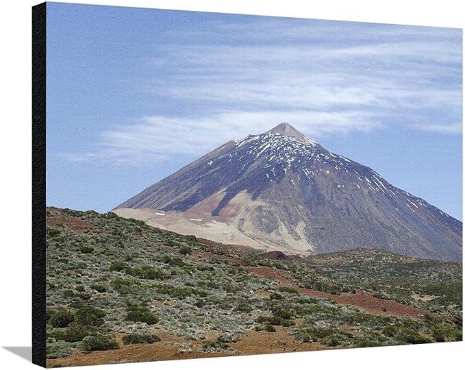 Teide (pico de Teide), Parque Nacional del Teide, Tenerife, Islas Canarias, España, Atlántico por Sergio Pitamitz de impresión de Lienzo, algodón revestido de acrílico, 81 x 61 cm: Amazon.es: Hogar