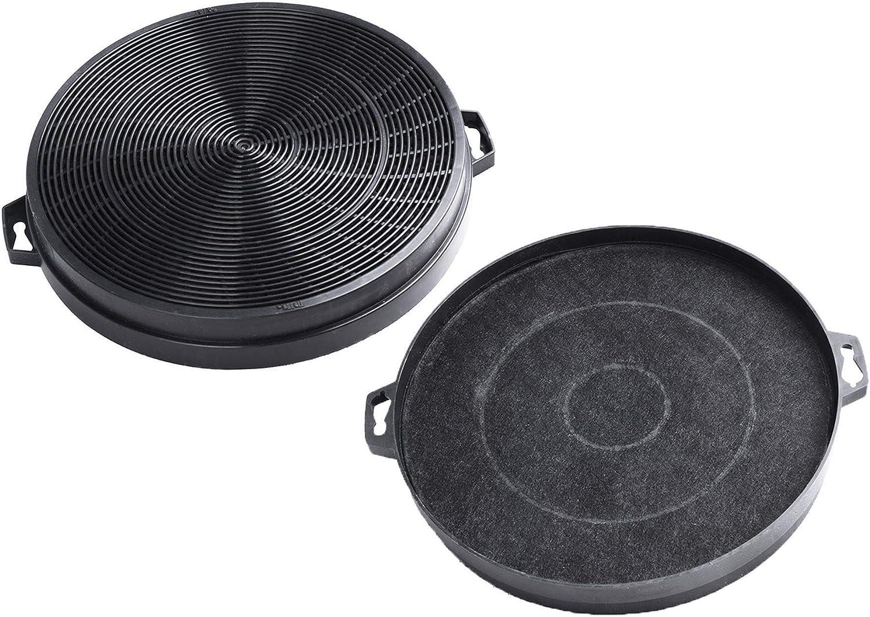 2x AquaHouse AH-CHF2 Filtro de carbón activado compatible con campana extractora Moffat, Cata, Hygena CARBFILT2: Amazon.es: Hogar