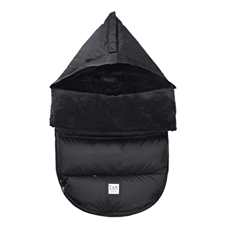 Waterproof/&windproof Orzbow Infant Car Seat Cover 0-12M Winter Protector Center Zipper Universal Fit All Car Seat Black Baby Car Seat Footmuff