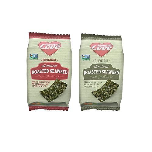 Seaweed Love All Natural Roasted Seaweed