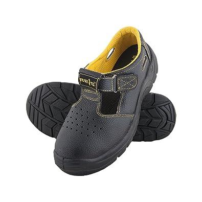 Leder Sicherheitsschuhe BRYES-S OB 36-50 Arbeitsschuhe Sandale Lederschuhe Sicherheitssandale