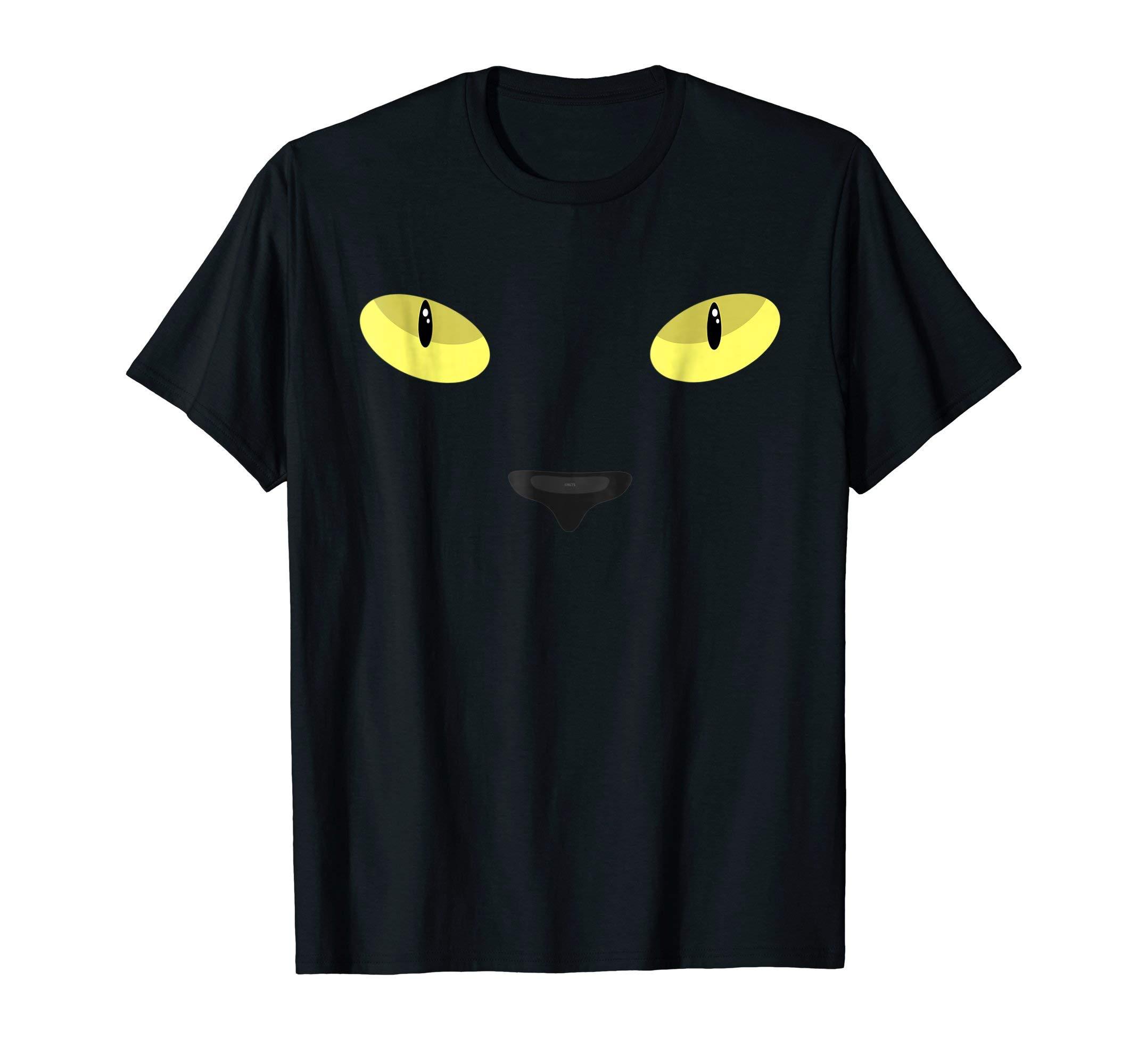 Black-Cat-Eyes-Halloween-Novelty-T-Shirt-Tee-Gifts