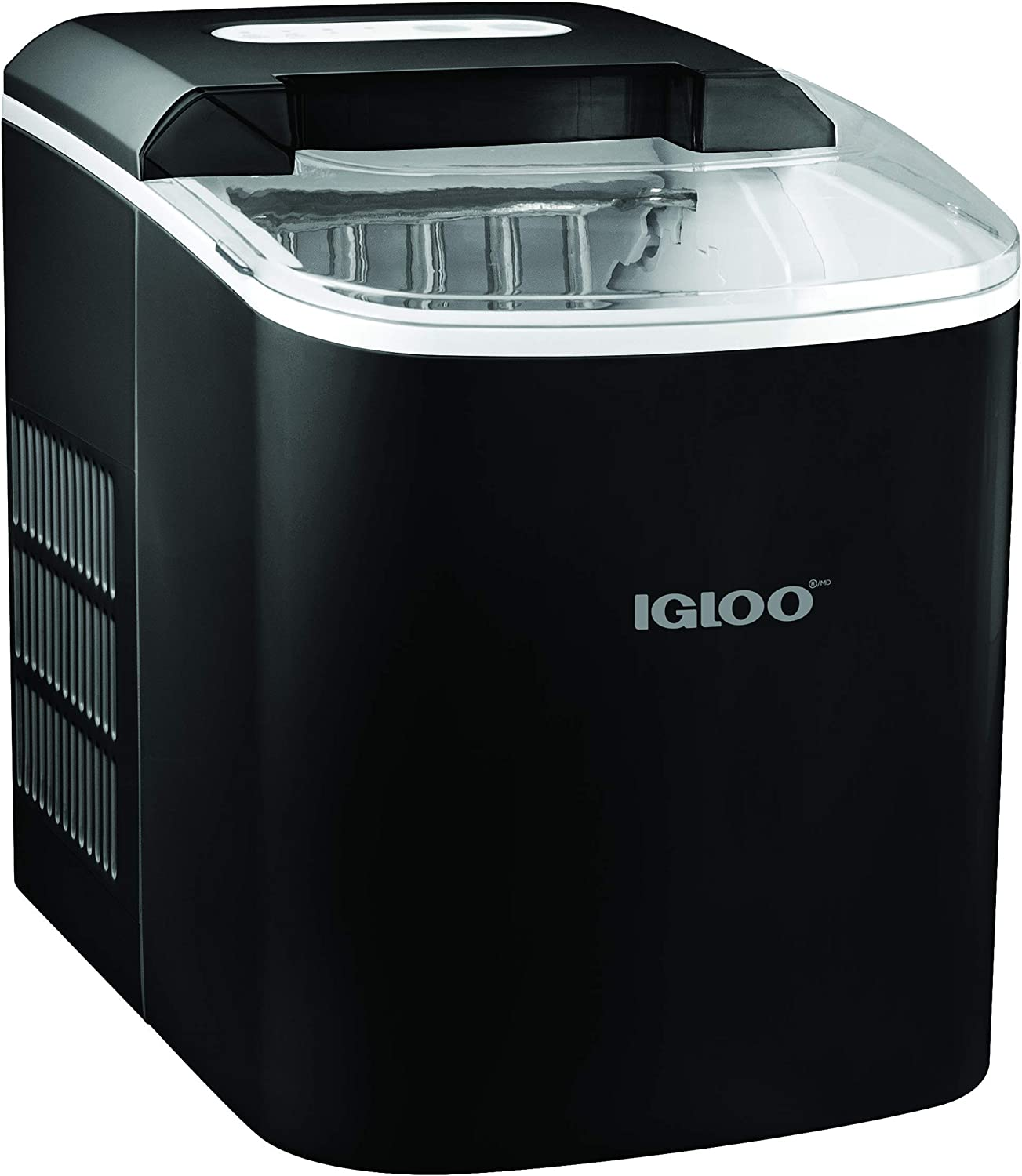 Igloo ICEB26BK Automatic Portable Electric Countertop Ice Maker