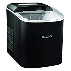 Igloo ICEB26BK Portable 26-Pound Automatic Ice Maker, Black