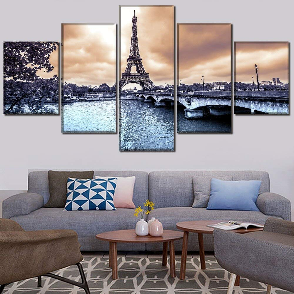 mmwin HD Print Sky Cloud Landscape Picture Canvas Wall Art Work 5 ...