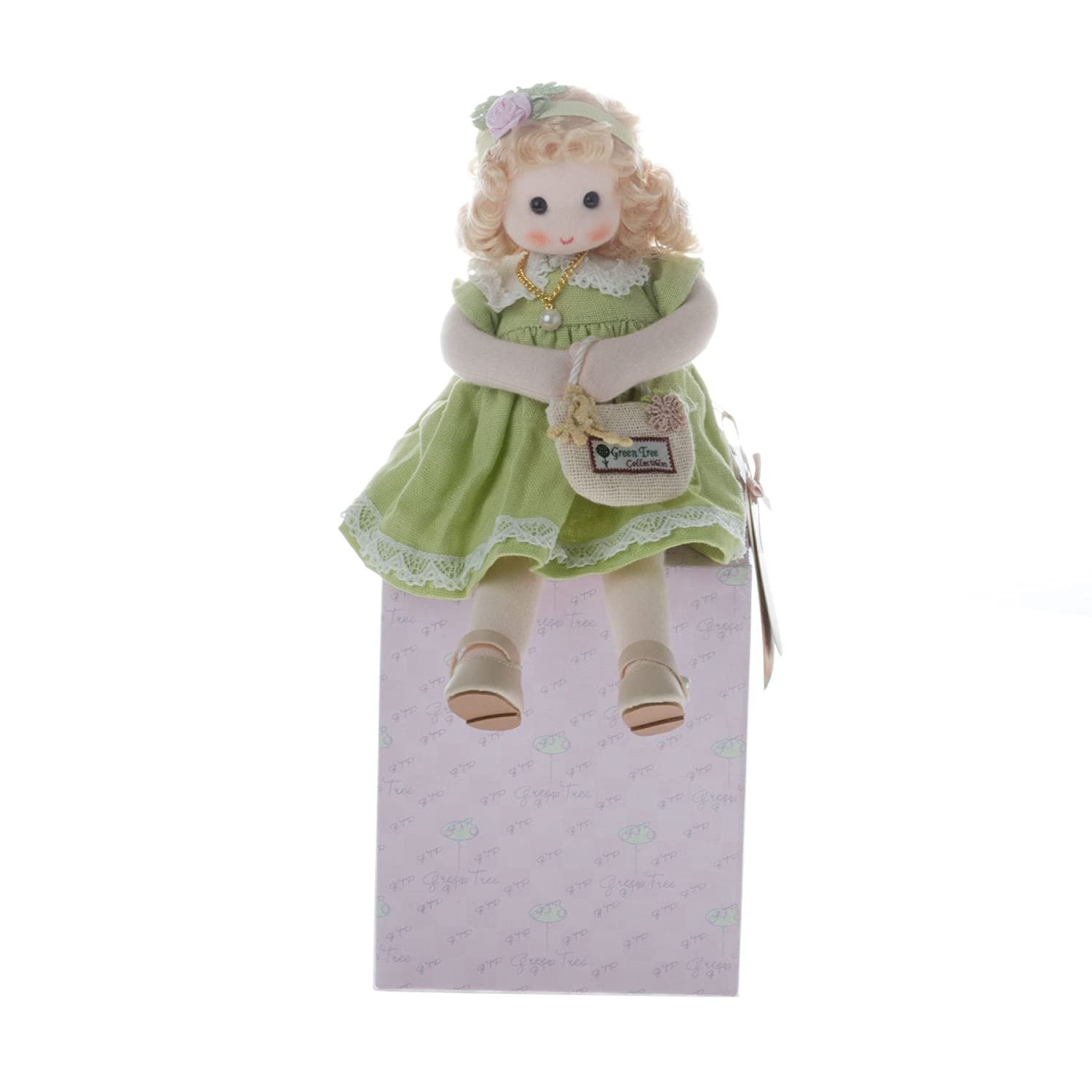 April - Diamond Musical Doll GreenTree 980-54