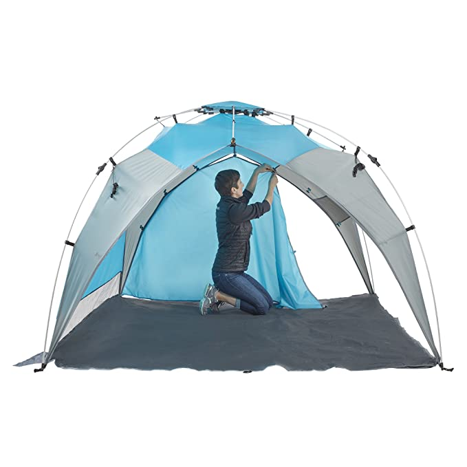 new concept 0823d 909a9 Amazon.com: Lightspeed Outdoors Quick Beach Canopy Tent with ...