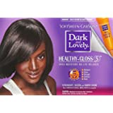 Dark and Lovely Healthy-Gloss 5 Shea Moisture No-Lye Relaxer Kit, Super 1 ea