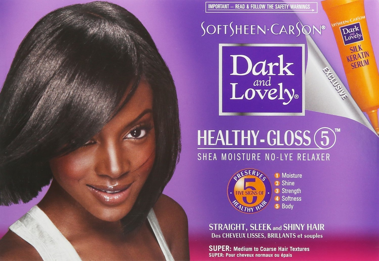 SoftSheen-Carson Dark and Lovely Healthy-Gloss 5 Shea Moisture No-Lye Relaxer