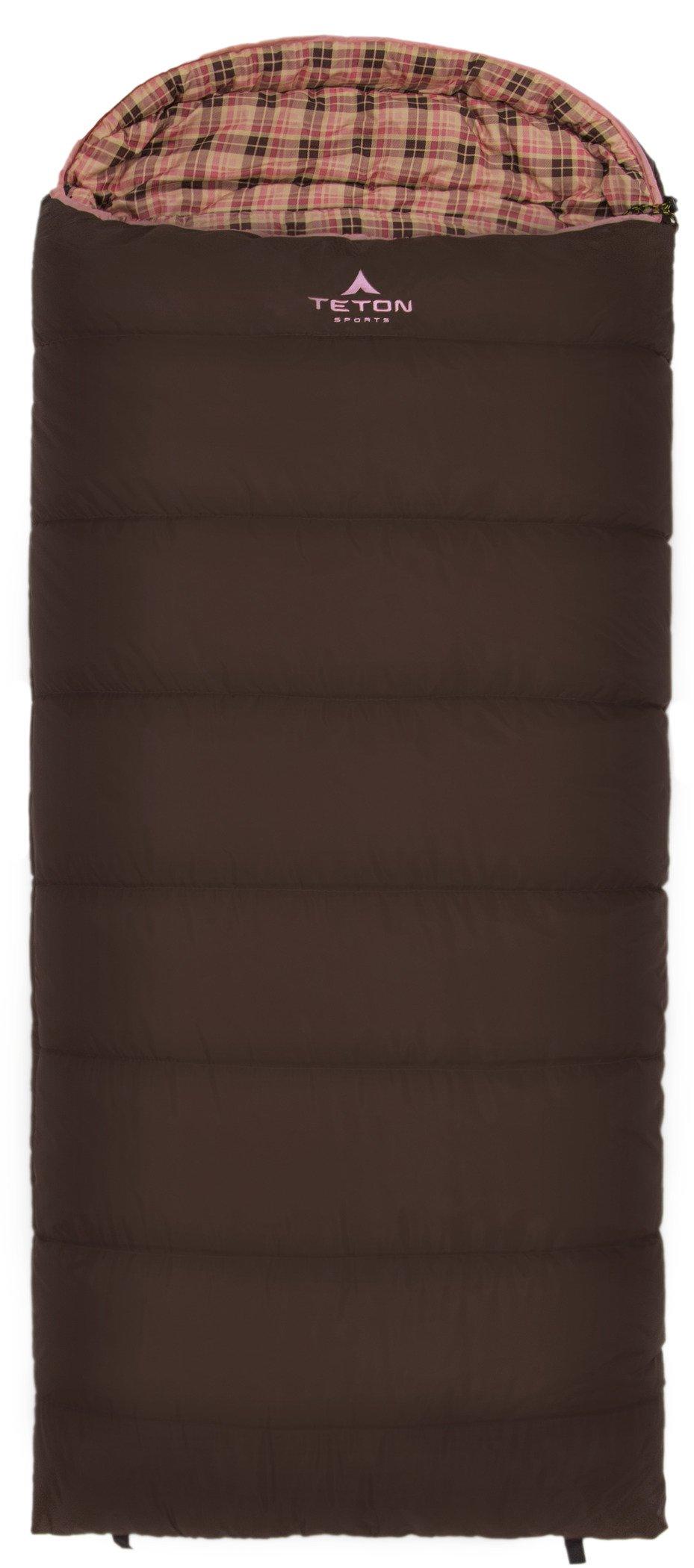 TETON Sports Regular Sleeping Bag; Great for Family Camping; Free Compression Sack 3